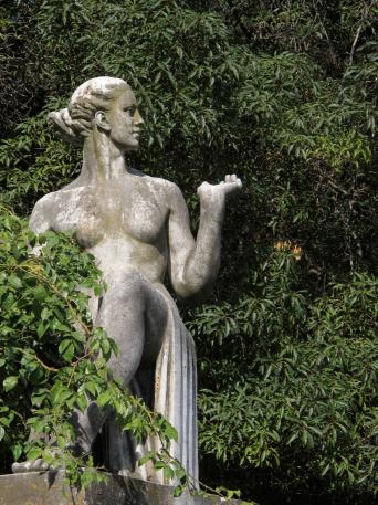 Die Parks in Lissabon